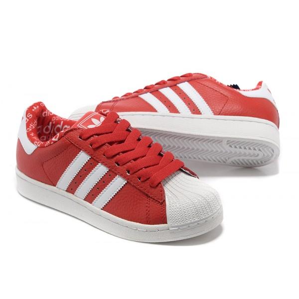 adidas superstar rouge et blanche femme - www.loftlounge.eu