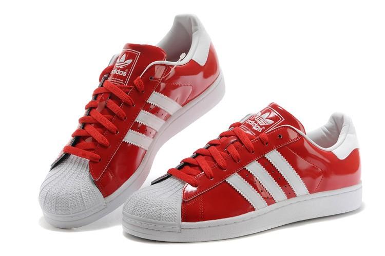 adidas superstar bande rouge